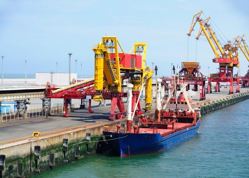 calais portu statek zdjęcie stock
