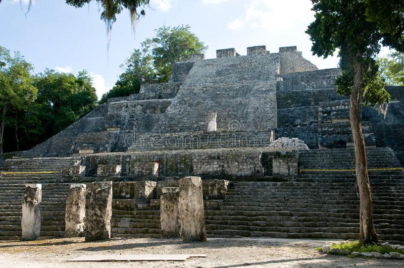 calakmul photographie stock