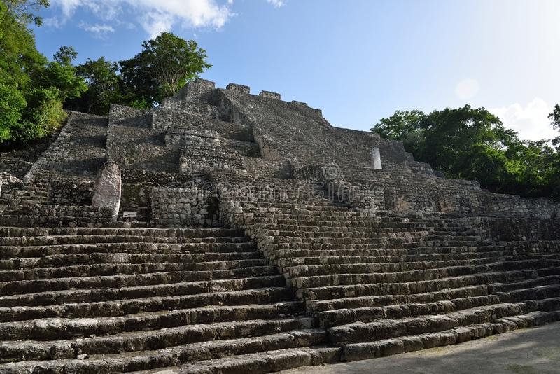 Calakmul. Archaeological site in the Mexican state of Campeche. Calakmul or Kalakmul is a Maya archaeological site in the Mexican state of Campeche, deep in the stock photography