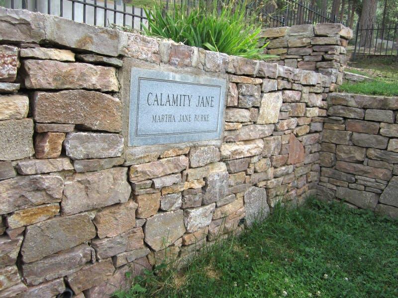 Calamity Jane royaltyfria bilder
