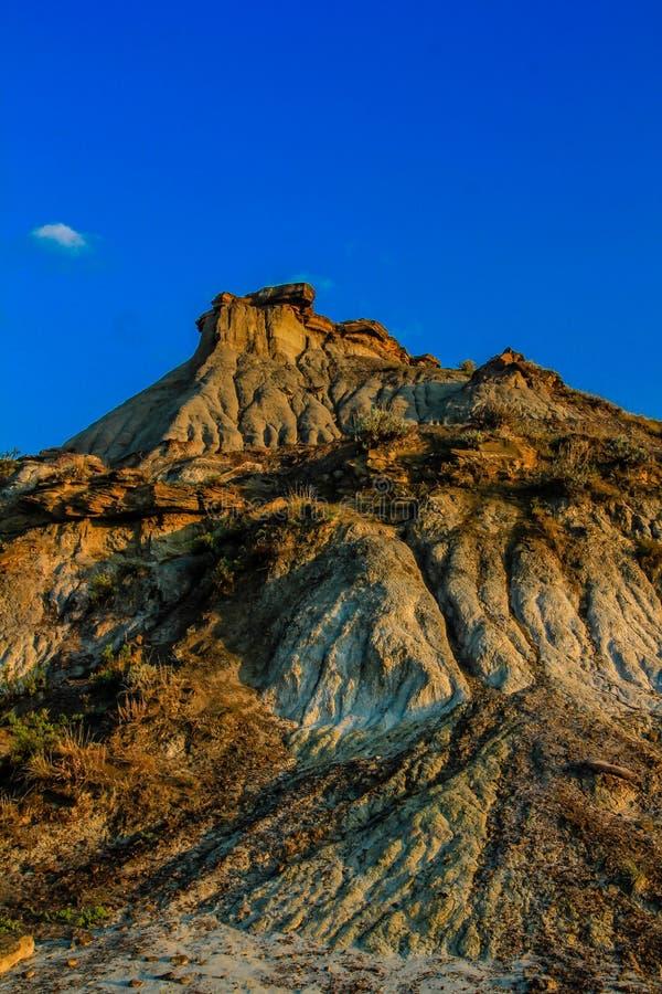 Calanchi canadesi, parco provinciale del dinosauro, Alberta, Canada fotografia stock libera da diritti