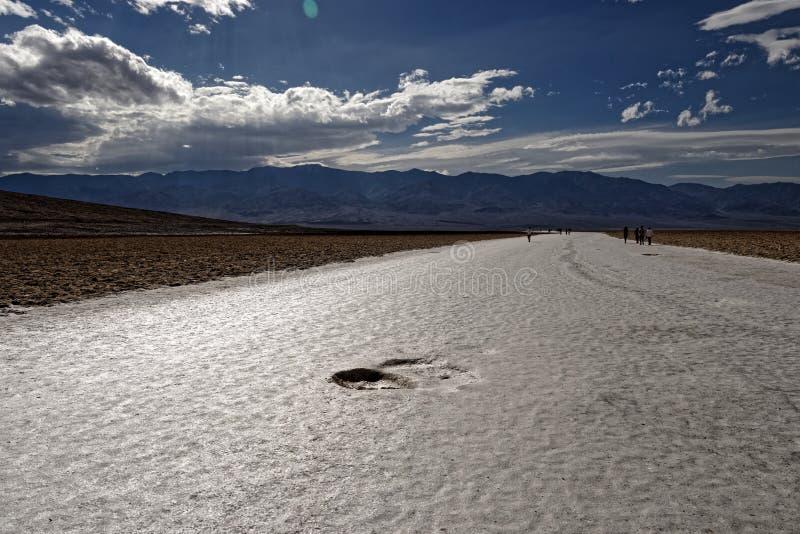 Calanchi in Death Valley, California immagini stock