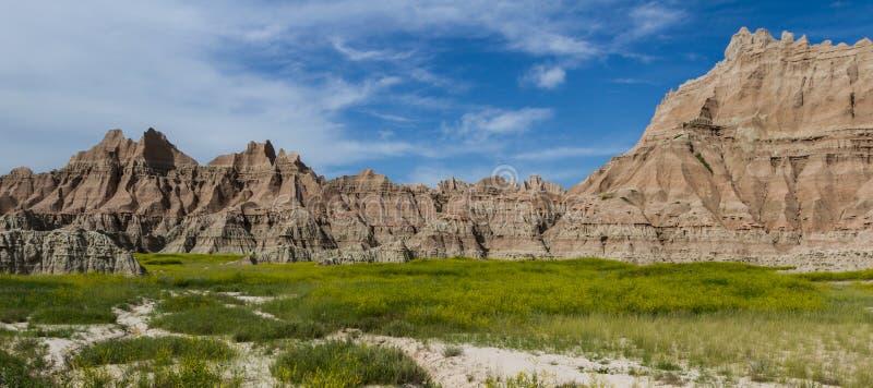 Calanchi, il Dakota del Sud fotografie stock