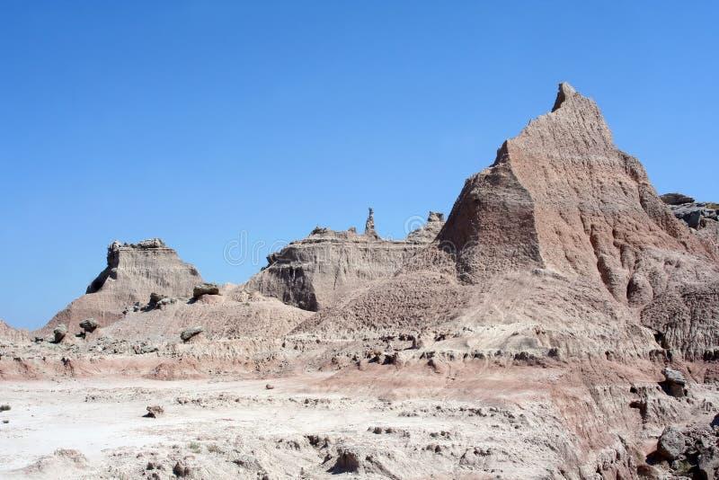 Calanchi sosta nazionale, il Dakota del Sud fotografia stock libera da diritti