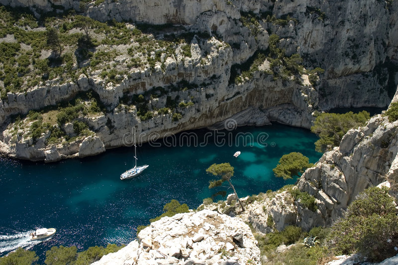 Download Calanques stock image. Image of rock, vacation, blue, cote - 170009