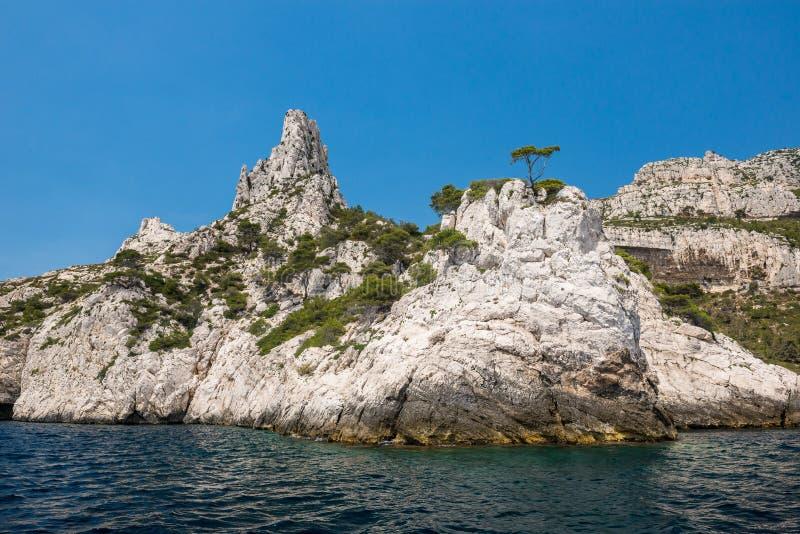 Calanques Nationaal Park, Frankrijk royalty-vrije stock afbeelding
