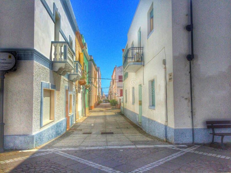 Calasetta Sardinien stockfoto