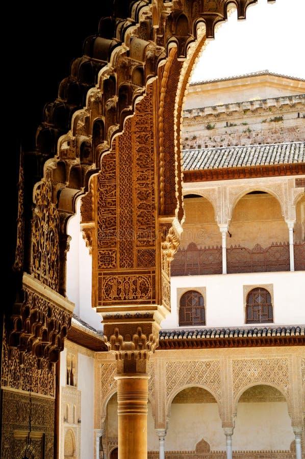 Calat Alhambra, Granada lizenzfreies stockfoto