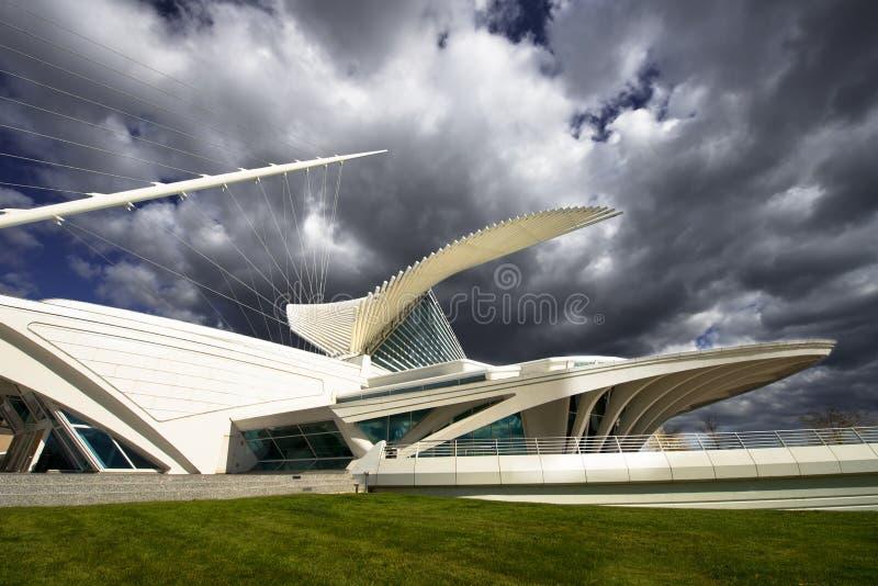 Calatrava Art Museum, Milwaukee Wisconsin arkivfoto