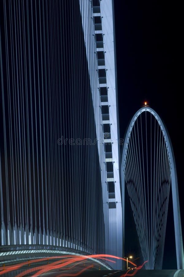 Calatrava Brücke lizenzfreie stockbilder