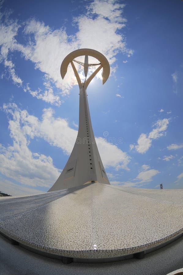Free Calatrava Tower, Montjuic. Barcelona Stock Images - 14816794