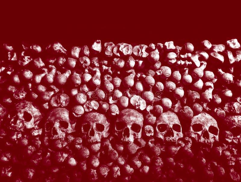 Calaveras y huesos imágenes de archivo libres de regalías