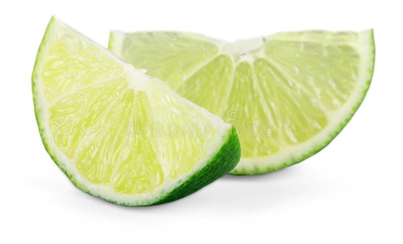 Download Calce Fresca E Fetta Della Raccolta, Isolate Su Bianco Immagine Stock - Immagine di verde, bio: 117977499