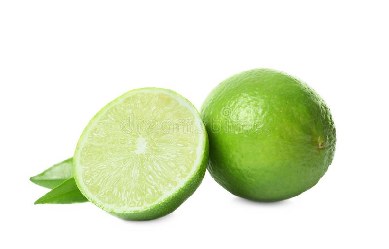 Calce verdi mature fresche fotografia stock