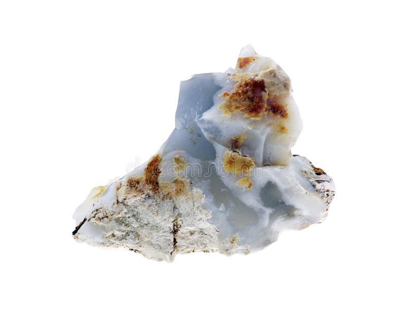Calcedónia azul imagem de stock
