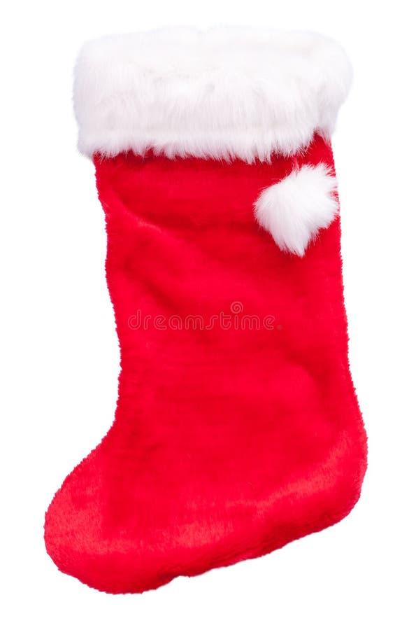 Calcetín de la Navidad fotografía de archivo