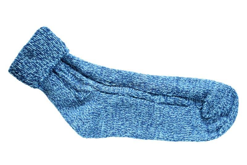 Calcetín de las lanas fotos de archivo