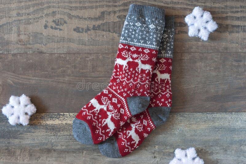 Calcetines calientes imagen de archivo libre de regalías