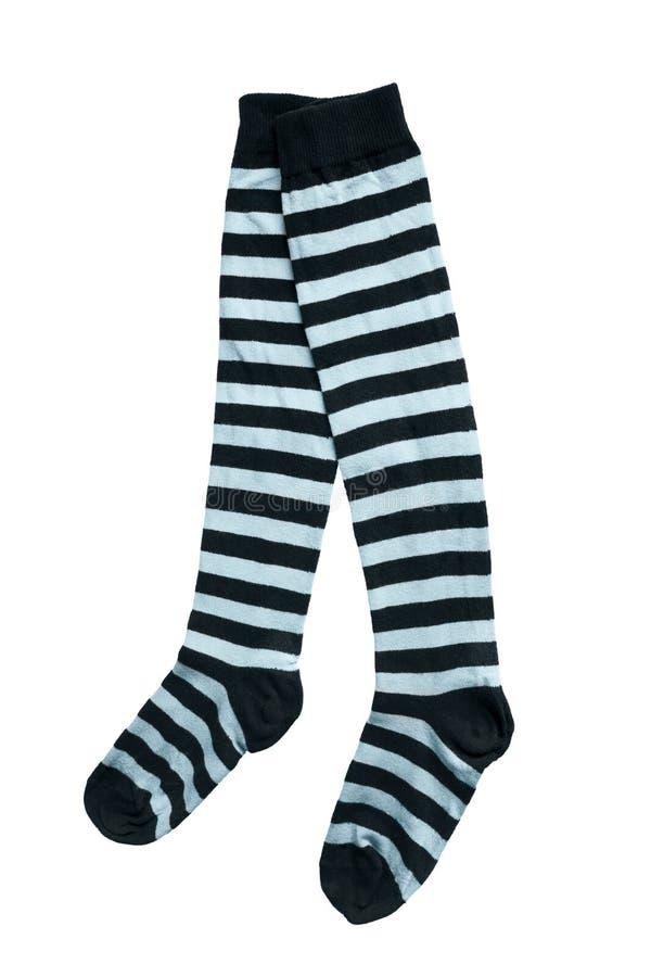 Calcetines de la rodilla fotos de archivo libres de regalías
