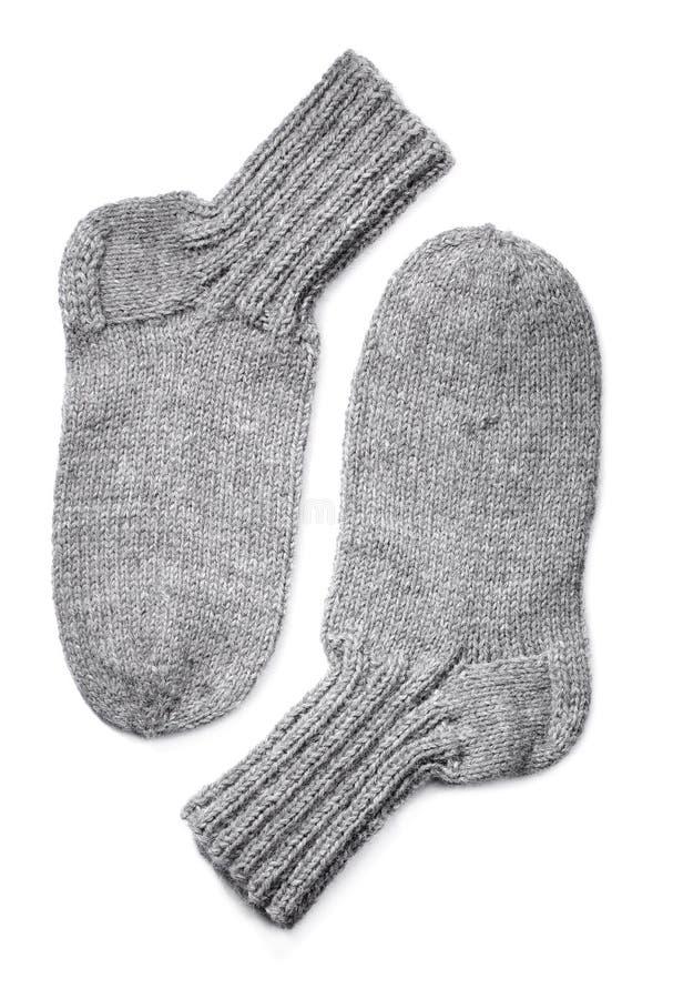 Calcetines de las lanas imagen de archivo