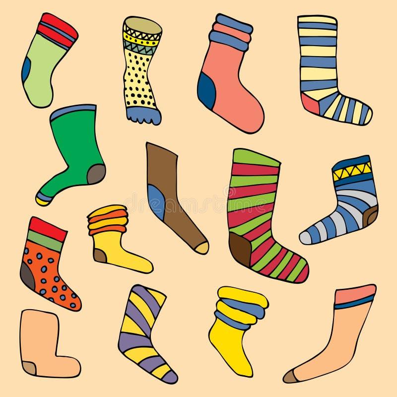Calcetines fijados libre illustration