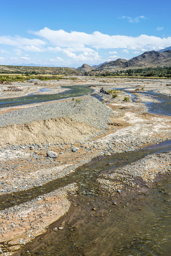 Free Calchaqui River In Salta, Northern Argentina. Royalty Free Stock Images - 40194649