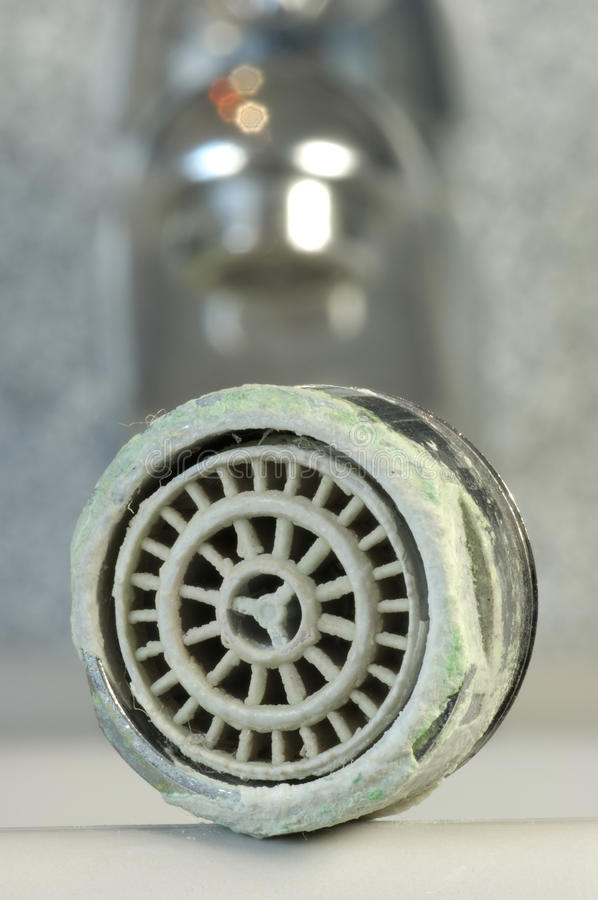 Calcified water tap stock photo. Image of deposit, sanitary - 9657168