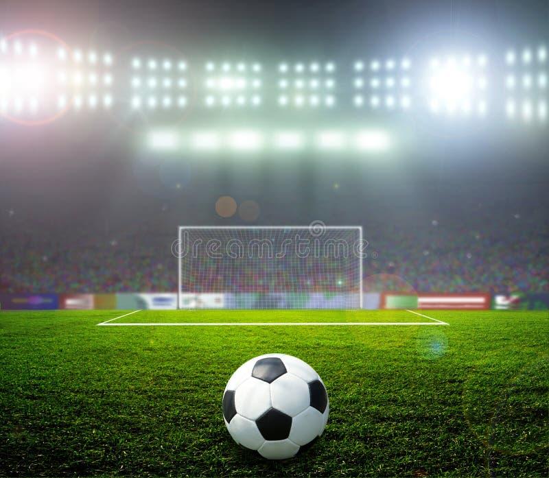 Calcio bal.football, fotografie stock