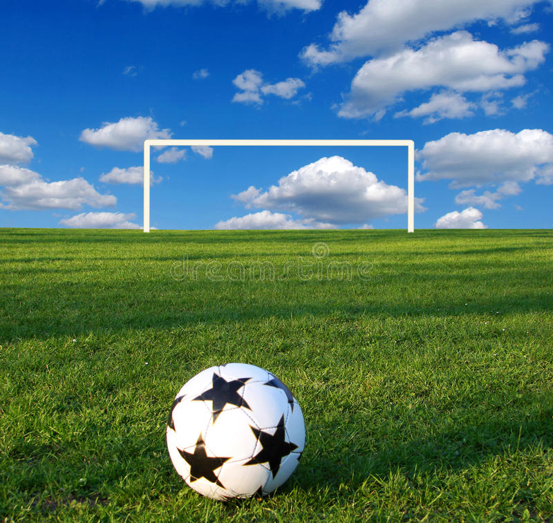 calcio della sfera immagini stock libere da diritti