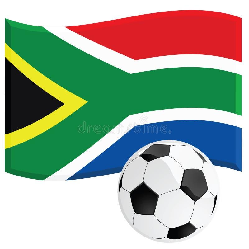 Calcio della Sudafrica illustrazione di stock