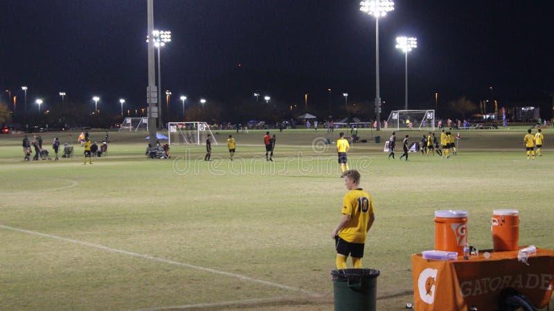 Calcio & x28; futbol& x29; fotografia stock