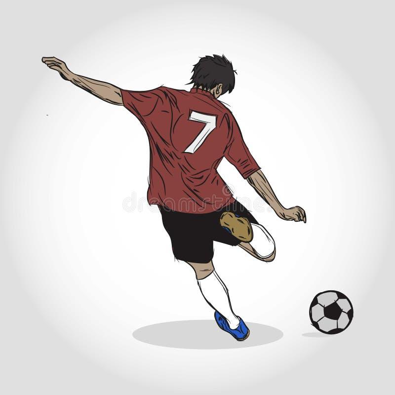 Calcio o gioco del calcio fotografia stock libera da diritti