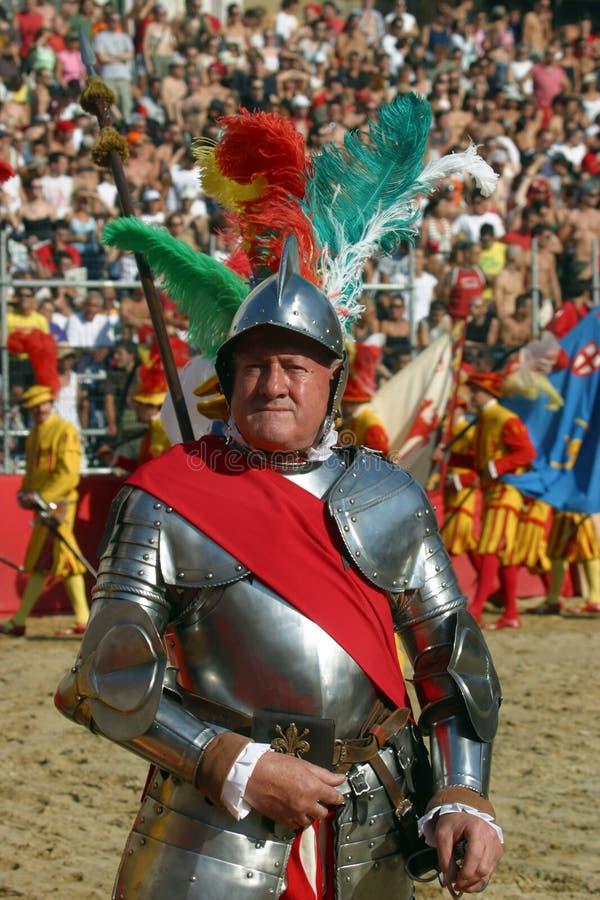 Calcio storicofiorentino, florence royaltyfri fotografi