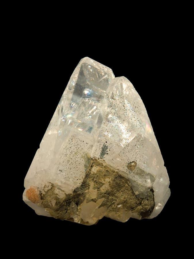 calcit水晶 库存照片