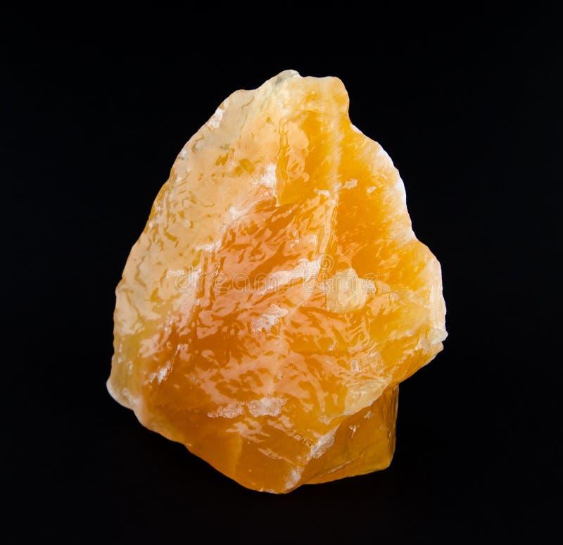 Calcite alaranjada amarela de México fotos de stock