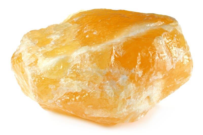 Calcite arancione fotografia stock libera da diritti