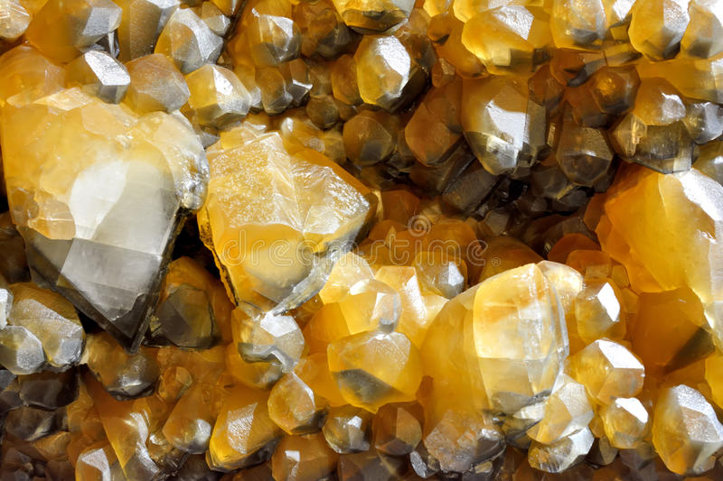 Calcite mine. Background in color and shape of calcite mine, shown as beautiful and featured color, pattern and texture royalty free stock image