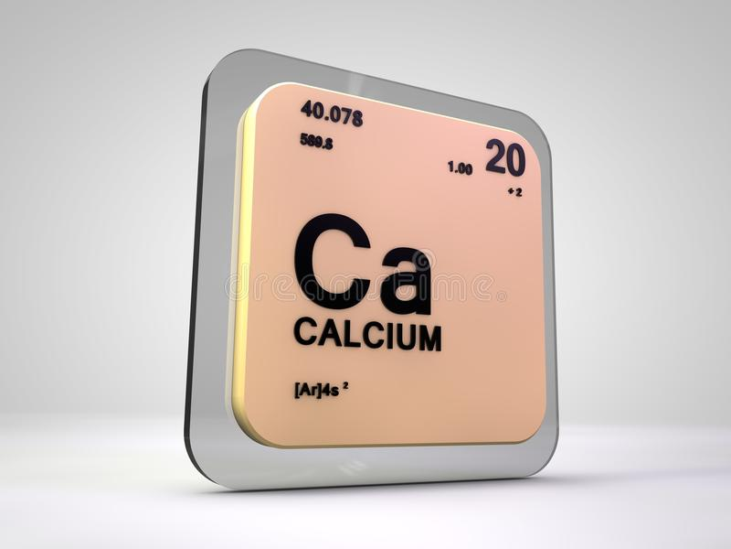 Calcium ca chemical element periodic table stock illustration calcium ca chemical element periodic table 3d render urtaz Choice Image