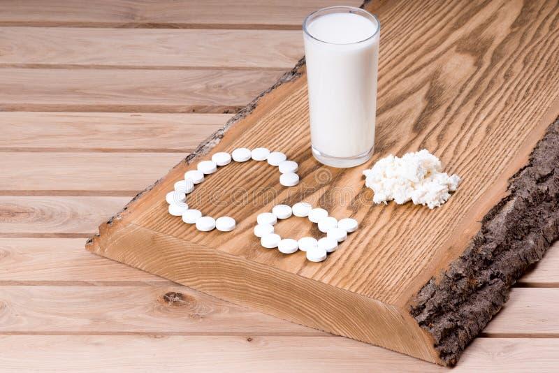Calcium royalty free stock photos