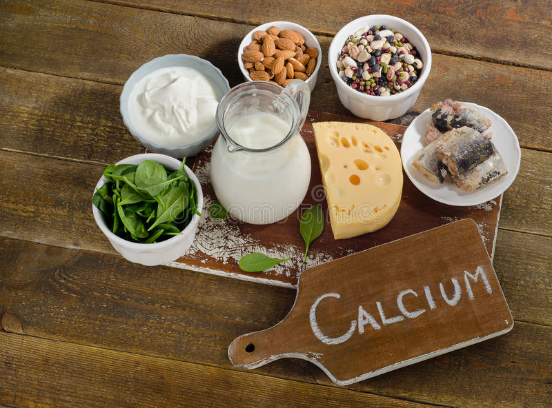 Download Calcium Rich Foods stock image. Image of health, organic - 66694619