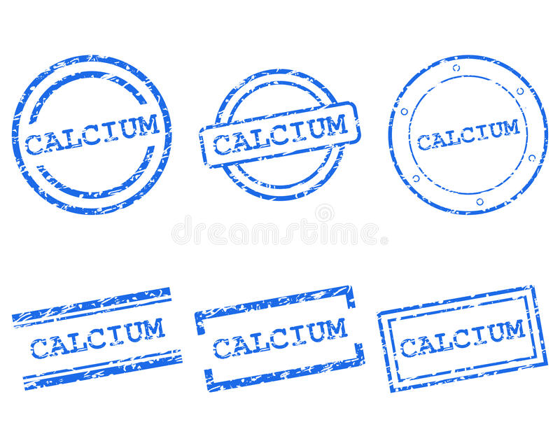 Download Calcium stamps stock vector. Illustration of illustration - 26774028