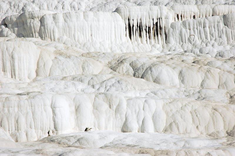 Calcium waterfalls Pamukkale Turkey royalty free stock images