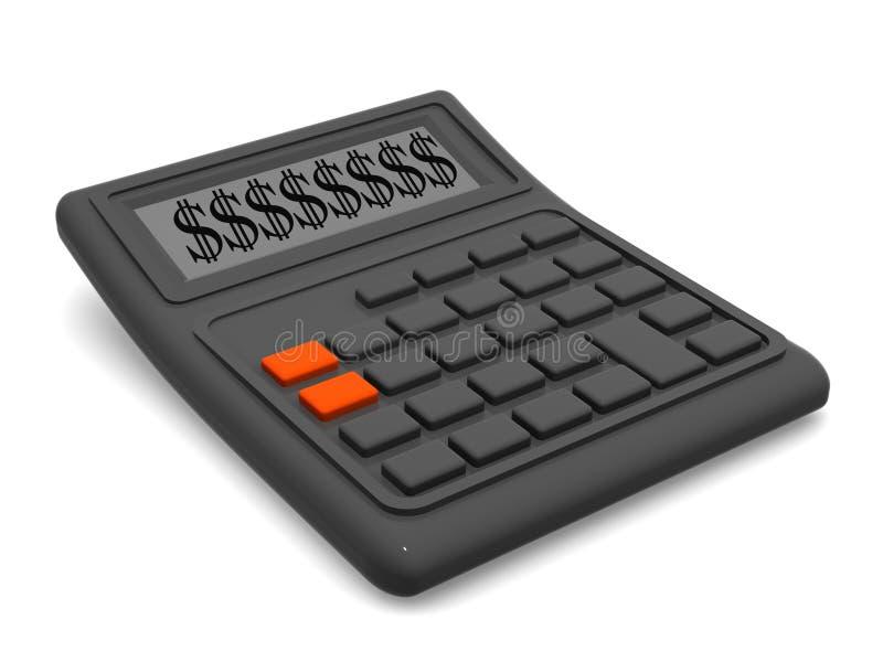 Calcolatore. illustrazione di stock
