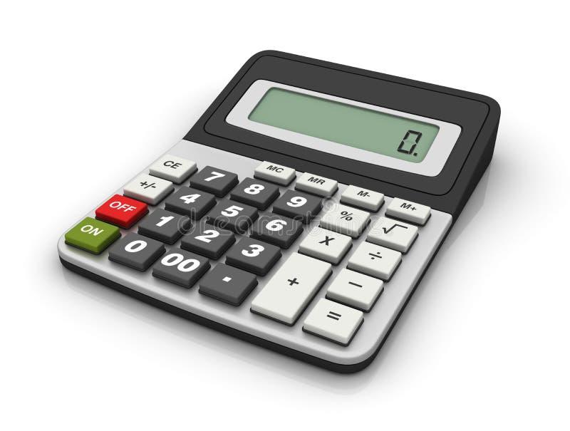 Calcolatore illustrazione vettoriale