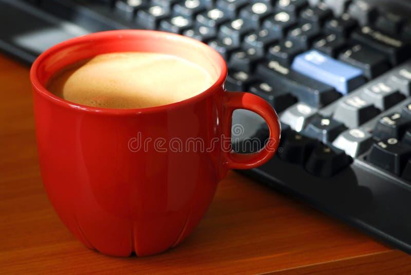 Calcolatore del caffè fotografia stock