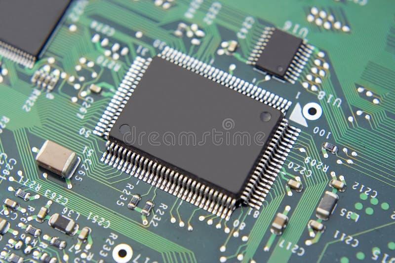 Calcolatore Mainboard immagini stock