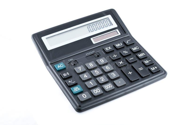 Calcolatore nero dell'ufficio immagine stock libera da diritti