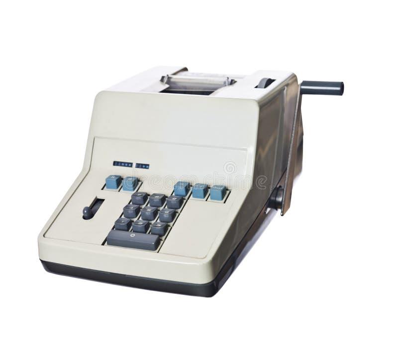 Calcolatore obsoleto fotografia stock