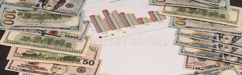 Calcoli matematici per gli affari finanziari immagine stock libera da diritti