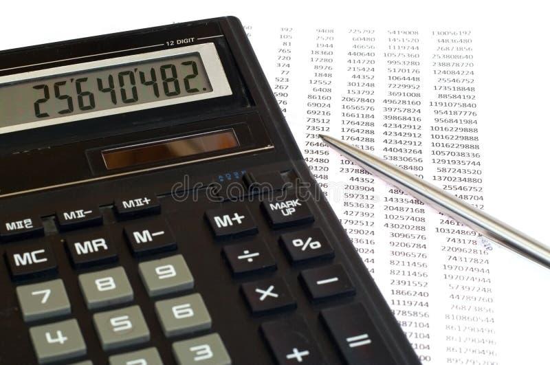 Download Calcul d'impôts photo stock. Image du finances, responsabilité - 8668012